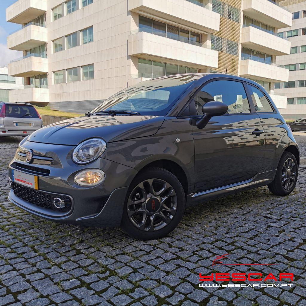 Fiat 500 S YESCAR automóveis Porto