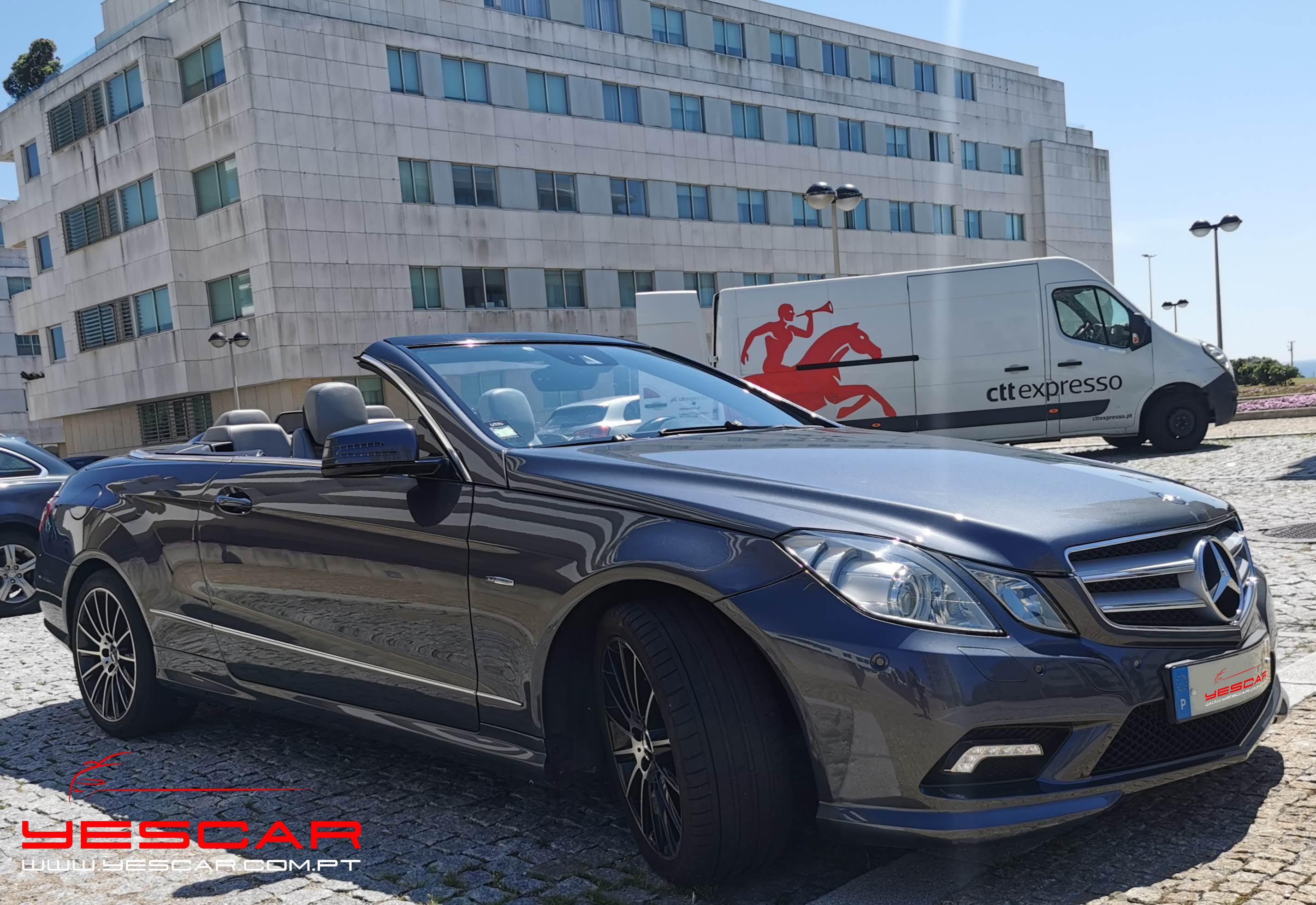 Mercedes Benz Classe E coupe cabrio  YESCAR automóveis  Rua António Enes 51 Porto