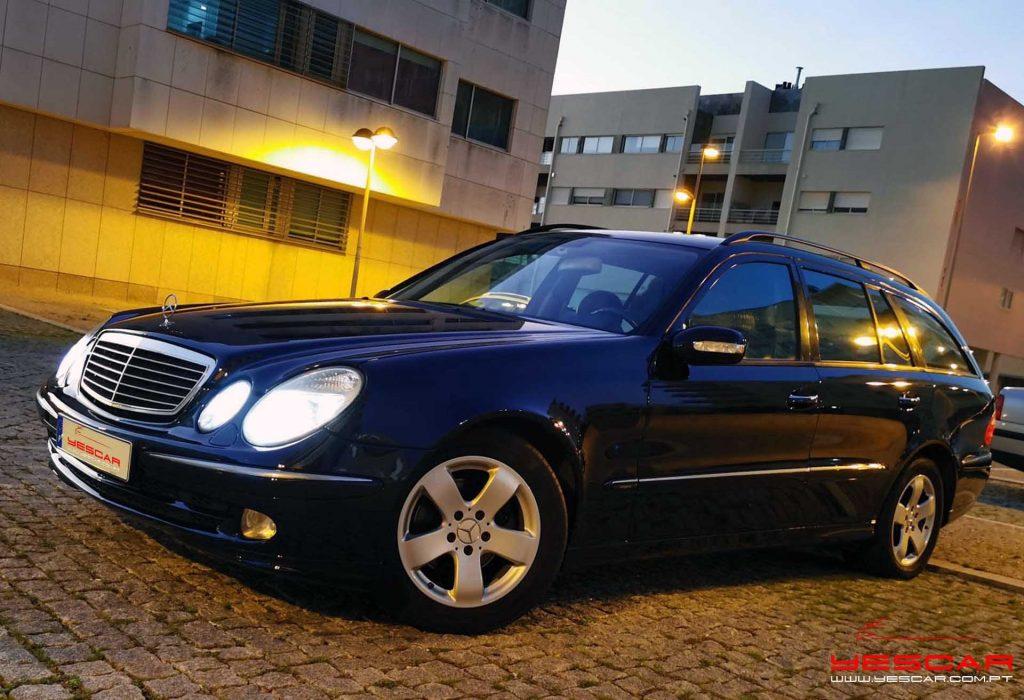 Mercedes Benz E270 Avantgarde YESCAR automóveis Rua António Enes 51, Porto